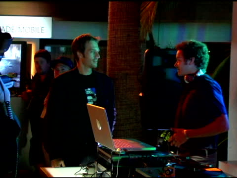 michael vartan and danny masterson at the xbox 360 e3 party at the roosevelt hotel in hollywood california on may 9 2006 - michael vartan stock videos & royalty-free footage