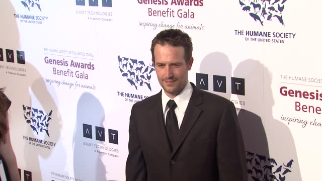 michael vartan at 2013 genesis awards benefit gala presented by the humane society of the united states on 3/23/13 in los angeles ca - michael vartan stock videos & royalty-free footage