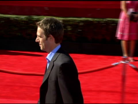 michael vartan at the 13th annual espy awards arrivals at the kodak theatre in hollywood california on july 13 2005 - michael vartan stock videos & royalty-free footage