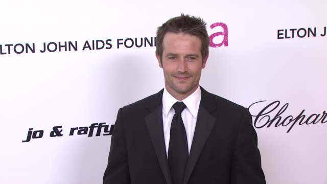 michael vartan at the 19th annual elton john aids foundation academy awards viewing party part 2 at west hollywood ca - michael vartan stock videos & royalty-free footage