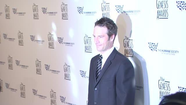 michael vartan at the 24th genesis awards at beverly hills ca - michael vartan stock videos & royalty-free footage