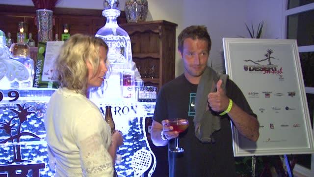 michael vartan at the 5th annual kswiss desert smash at palm springs ca - michael vartan stock videos & royalty-free footage