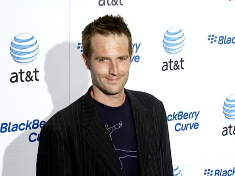 michael vartan at the blackberry curve from at&t u.s. launch party at beverly hills california. - curve stock videos & royalty-free footage