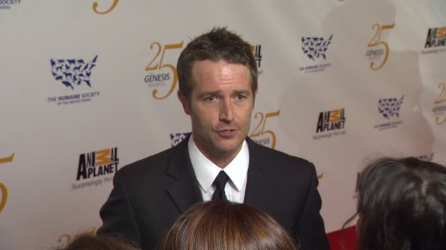 michael vartan at the the 25th anniversary genesis awards presented by the humane society of the united states at century city ca - michael vartan stock videos & royalty-free footage