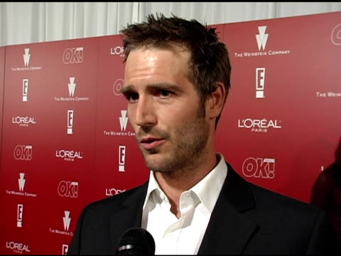 michael vartan on 'lost' the cast and the shows success at the 2006 weinstein company preoscar party at the pacific design center in west hollywood... - michael vartan stock videos & royalty-free footage