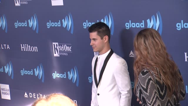 michael willett at the 26th annual glaad media awards at the beverly hilton hotel on march 21 2015 in beverly hills california - the beverly hilton hotel stock videos & royalty-free footage