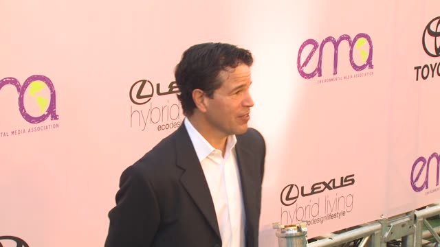 michael wimer at the 2009 environmental media awards at los angeles ca - environmental media awards stock videos & royalty-free footage