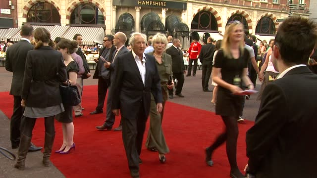 michael winner at the the expendables uk premiere at london england - michael winner stock videos & royalty-free footage