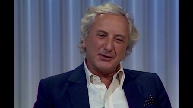 michael winner dies aged 77 lib london int michael winner speaking about obscene publications act sot was violence in human spirit long before advent... - michael winner stock videos & royalty-free footage