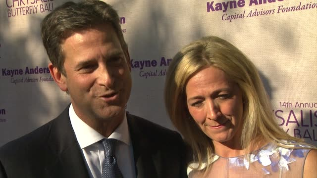 interview michael wright on being honored at the event what he appreciates about chrysalis what he's most looking forward to about the evening at... - chrysalis butterfly ball video stock e b–roll