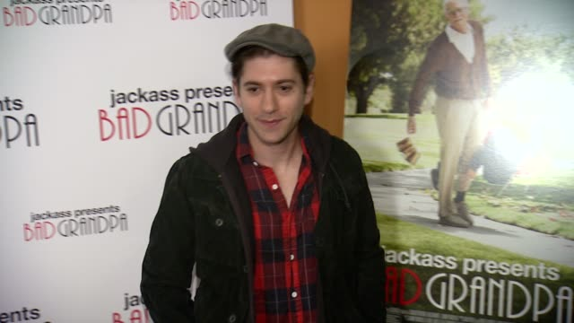 Michael Zegen at Jackass Presents Bad Grandpa New York Special Screening at Sunshine Landmark New York NY on 10/21/13 in New York NY