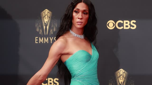 michaela jaé rodriguez arrives to the 73rd annual primetime emmy awards at l.a. live on september 19, 2021 in los angeles, california. - emmy awards stock videos & royalty-free footage