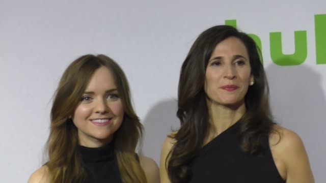 Michaela Watkins and Tara Lynne Barr at the 2017 Winter Television Critics Association Tour Hulu Press Day at Langham Hotel on January 07 2017 in...
