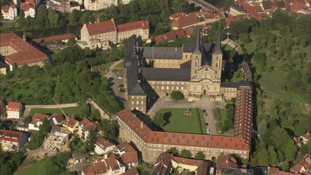 Michaelsberg Abbey And Bamberg Cathedral