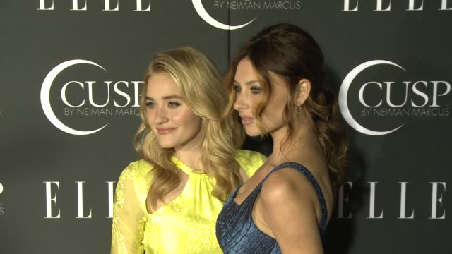 stockvideo's en b-roll-footage met michalka, aly michalka at 5th annual elle women in music celebration presented by cusp by neiman marcus at avalon on april 22, 2014 in hollywood,... - neiman marcus