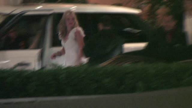 AJ Michalka leaving Century Plaza in Los Angeles
