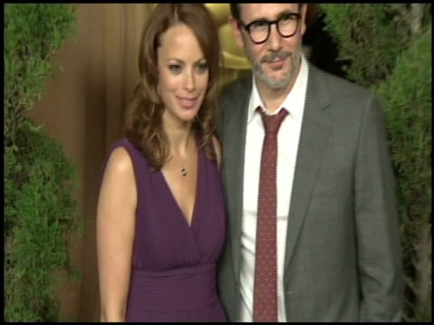Michel Hazanavicius and Berenice Bejo at the 84th Academy Awards Nominations Luncheon in Beverly Hills CA on 2/6/12