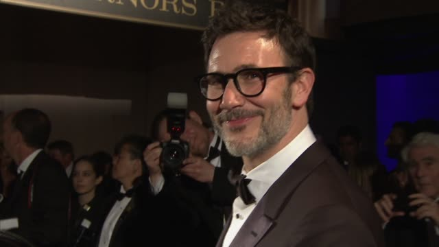 Michel Hazanavicius at 2012 Governors Ball on 2/26/12 in Hollywood CA