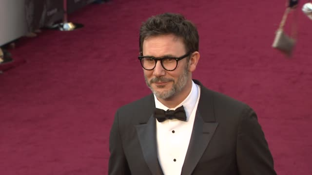 Michel Hazanavicius at 84th Annual Academy Awards Arrivals on 2/26/12 in Hollywood CA