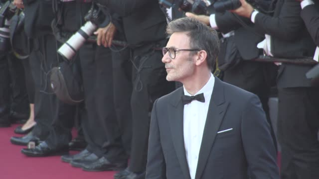 Michel Hazanavicius at Cannes Film Festival 70th Celebration Red Carpet at Palais des Festivals on May 23 2017 in Cannes France