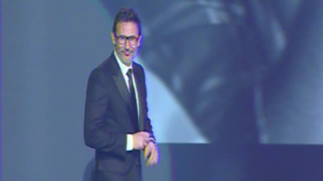 Michel Hazanavicius at The 23rd Annual Palm Springs International Film Festival Awards Gala on in Palm Springs CA