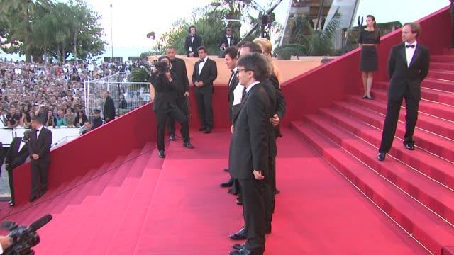 Michel Hazanavicius Berenice Bejo Missy Pyle Jean Dujardin Guillaume Schiffman Thomas Langmann at the The Artist Premiere 64th Cannes Film Festival...