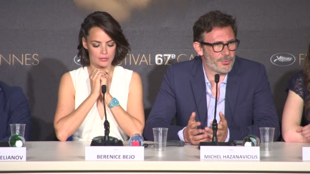 Michel Hazanavicius on his portrayal of the Russian Army at 'The Search' Press Conference at Palais des Festivals on May 21 2014 in Cannes France