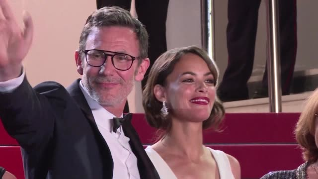Michel Hazanavicius the Oscarwinning director of The Artist presents his latest film in Cannes Redoutable a comedy about JeanLuc Godard one of...