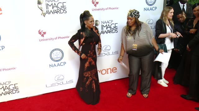 stockvideo's en b-roll-footage met michel'le at the 46th annual naacp image awards arrivals at pasadena civic auditorium on february 06 2015 in pasadena california - pasadena civic auditorium