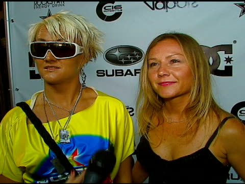 michelle ballard and keala kennelly on having the best jobs in the world, on what they've been doing since starring in 'blue crush', on loving to... - subaru stock videos & royalty-free footage