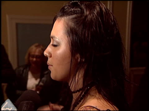 vídeos de stock, filmes e b-roll de michelle branch at the 2004 bmi pop awards at the regent beverly wilshire hotel in beverly hills california on may 11 2004 - michelle branch