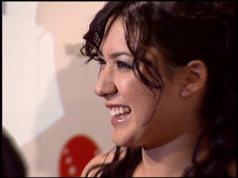 vídeos de stock, filmes e b-roll de michelle branch at the warner brothers grammy awards party at pacific design center in west hollywood california on february 13 2005 - michelle branch