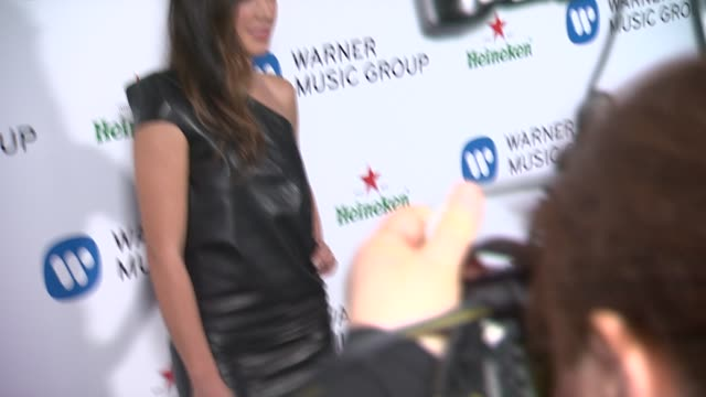 vídeos de stock, filmes e b-roll de michelle branch at warner music group 2014 grammy celebration at sunset tower hotel on in west hollywood california - michelle branch