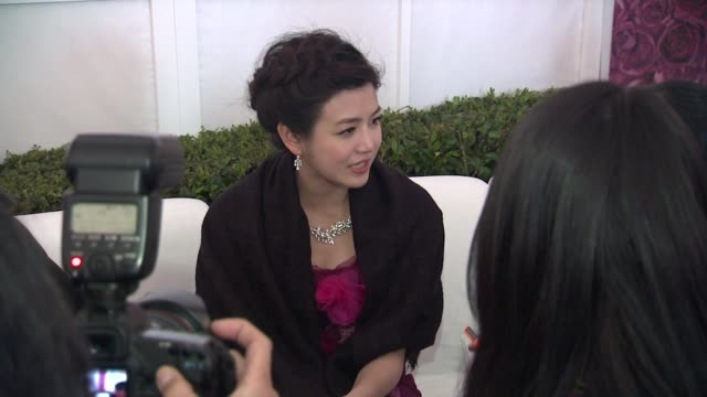 michelle chen at piaget at the 2012 film independent spirit awards on 2/25/12 in los angeles ca - independent feature project stock videos and b-roll footage