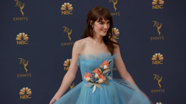 Michelle Dockery at the 70th Emmy Awards Arrivals at Microsoft Theater on September 17 2018 in Los Angeles California