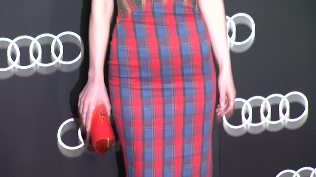 Michelle Dockery at the Audi Celebrates Golden Globes Weekend 2014 at Cecconi's Restaurant on in Los Angeles California