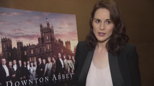 INTERVIEWS Michelle Dockery on breaking the internet the end of the show upset public excited for the future not knowing what is next missing the...
