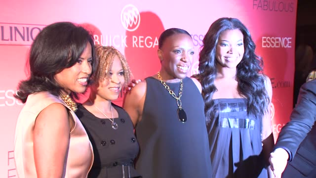 Michelle Ebanks Esi Eggleston Bracey Mikki Taylor and Gabrielle Union at the Essence Magazine 40th Anniversary Fierce Fabulous Awards Luncheon at New...