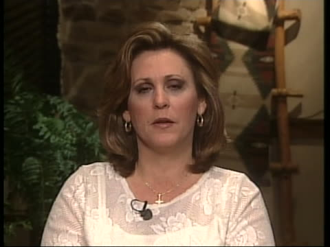 michelle freeman sister of andrea yates comments after hearing the verdict of her sister of being charge with capital murder for killing all five of... - postpartum depression stock videos & royalty-free footage
