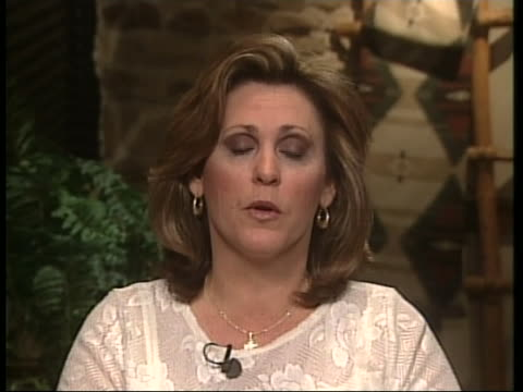 michelle freeman sister of andrea yates comments on her sister's illness after hearing the verdict of her sister of being charge with capital murder... - postpartum depression stock videos & royalty-free footage