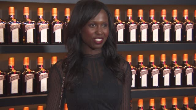 michelle gayle at cointreau: creative crew - launch event at hotel cafe royal on october 27, 2015 in london, england. - michelle gayle stock videos & royalty-free footage