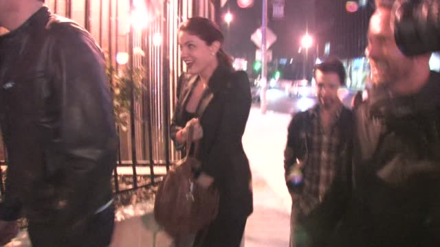 michelle monaghan at roxy in west hollywood at the celebrity sightings in los angeles at los angeles ca - michelle monaghan stock videos & royalty-free footage