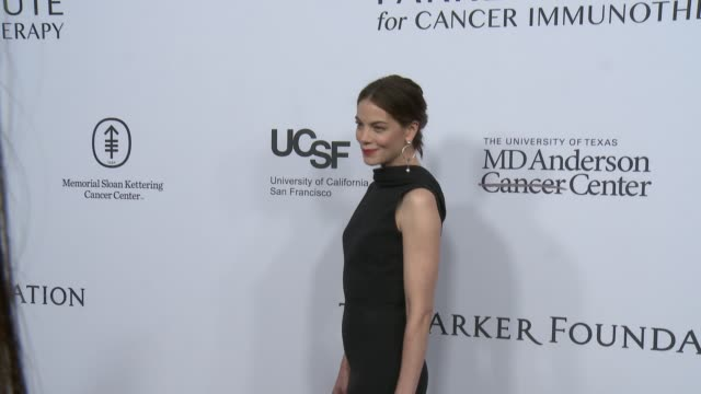 michelle monaghan at sean parker and the parker foundation celebrate the launch of the parker institute for cancer immunotherapy on april 13 2016 in... - michelle monaghan stock videos & royalty-free footage