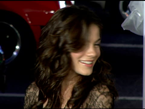 michelle monaghan at the 'kiss kiss bang bang' los angeles premiere at grauman's chinese theatre in hollywood california on october 18 2005 - michelle monaghan stock videos & royalty-free footage