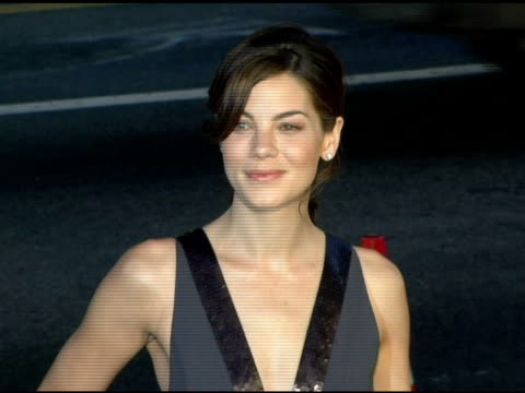 michelle monaghan at the 'north country' los angeles premiere at grauman's chinese theatre in hollywood california on october 10 2005 - michelle monaghan stock videos & royalty-free footage