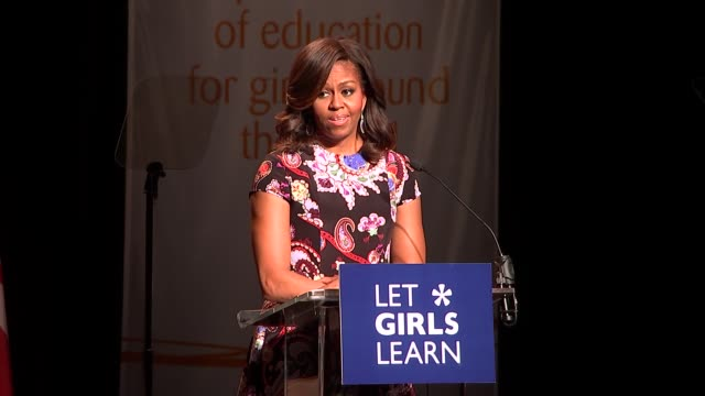 michelle obama speech michelle obama speech sot - speech stock videos & royalty-free footage