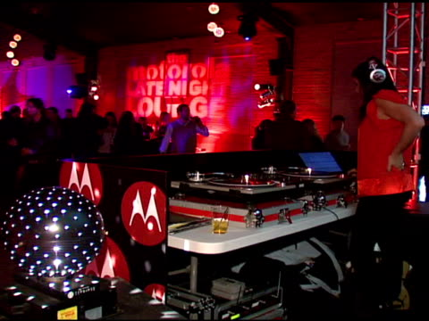 DJ Michelle Pesce at the Motorola and Nintendo present the Motorola Late Night Lounge at Sundance 2008 at NULL in Park City Utah on January 19 2008