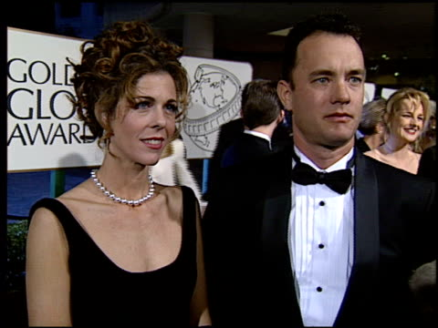 michelle pfeiffer at the 1994 golden globe awards at the beverly hilton in beverly hills california on january 22 1994 - michelle pfeiffer stock videos & royalty-free footage
