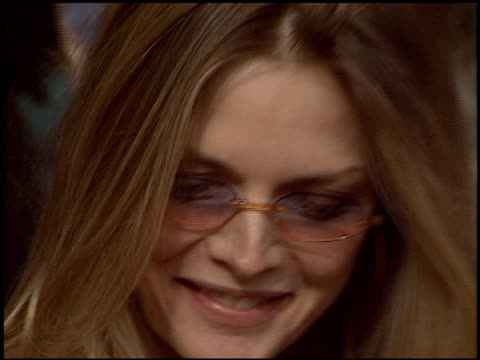 michelle pfeiffer at the christmas at los angeles mission at skid row in los angeles california on december 24 2003 - michelle pfeiffer stock videos & royalty-free footage