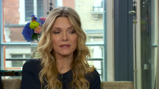 michelle pfeiffer saying she has had some experiences of sexual harassment in hollywood in the wake of the harvey weinstein scandal - hollywood california stock videos & royalty-free footage